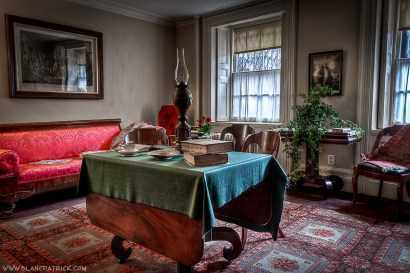 Period room in 19th century home