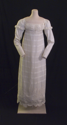Day Dress, c. 1820 (MHM 2002.0844)