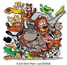 תוצאת תמונה עבור בעלי חיים ציור