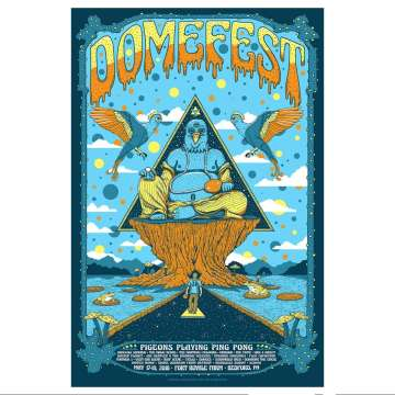 pigeons playing ping pong domefest 2018 poster