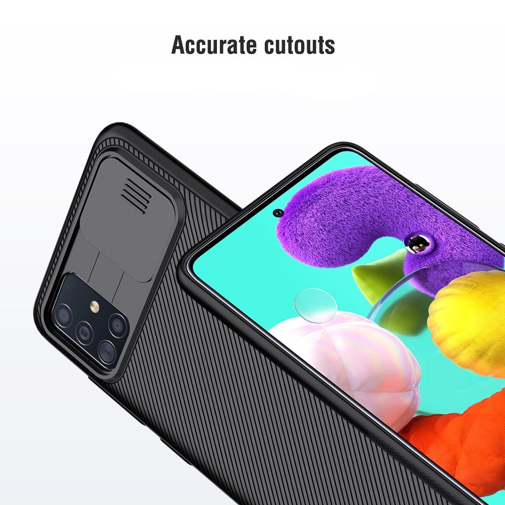 for Samsung Galaxy S20/S20 Plus /S20 Ultra A51 A71 Phone Case,NILLKIN Camera Protection Slide Protect Cover Lens Protection Case