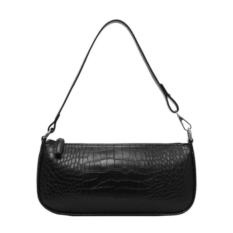 Retro Alligator Pattern Women Messenger Handbags sac PU Leather Street Casual Solid Zipper Shoulder Bags Bolsa Mujer 2020 New