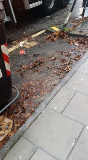 Trial to cleanse the detritus from in and around allocated bin bays in Morningside extended