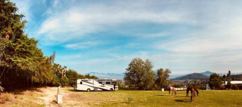Vue du ranch la Mesa