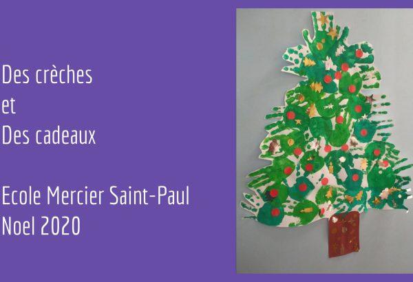 Noel 2020 Creche et cadeau