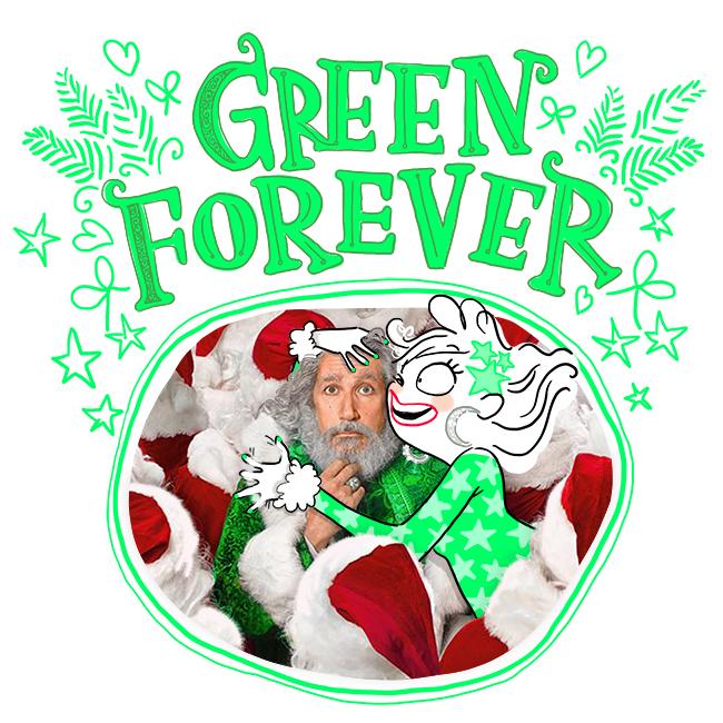Père Noël, green forever