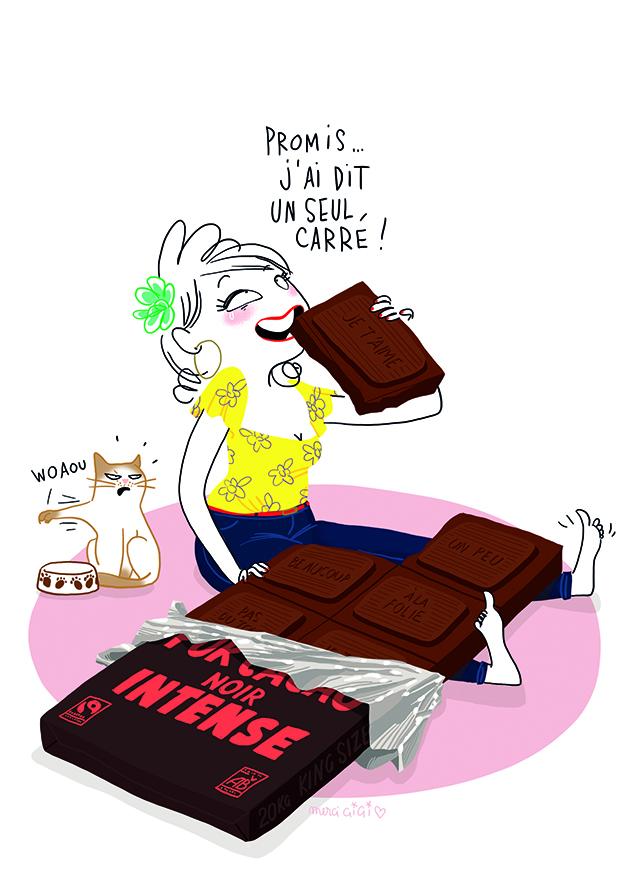 Vive Pâques et le chocolat