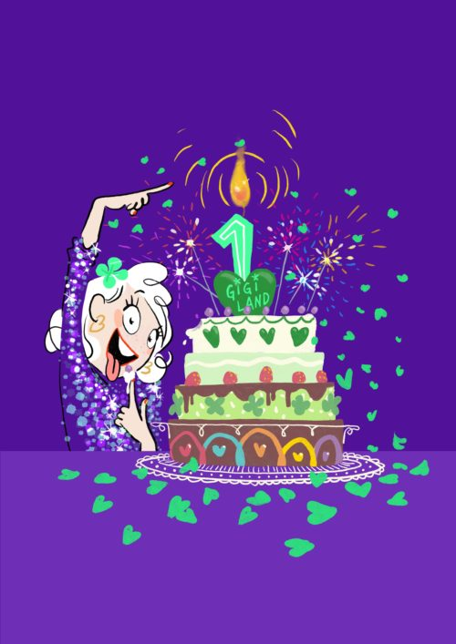 Gâteau anniversaire Gigiland
