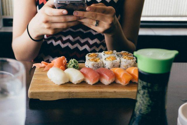 Plateau de sushis