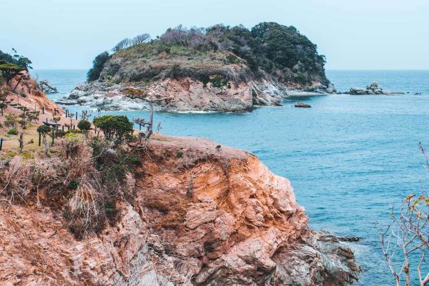 Bandoko : Un jardin au bord des falaises de Wakayama avec une vue magnifique