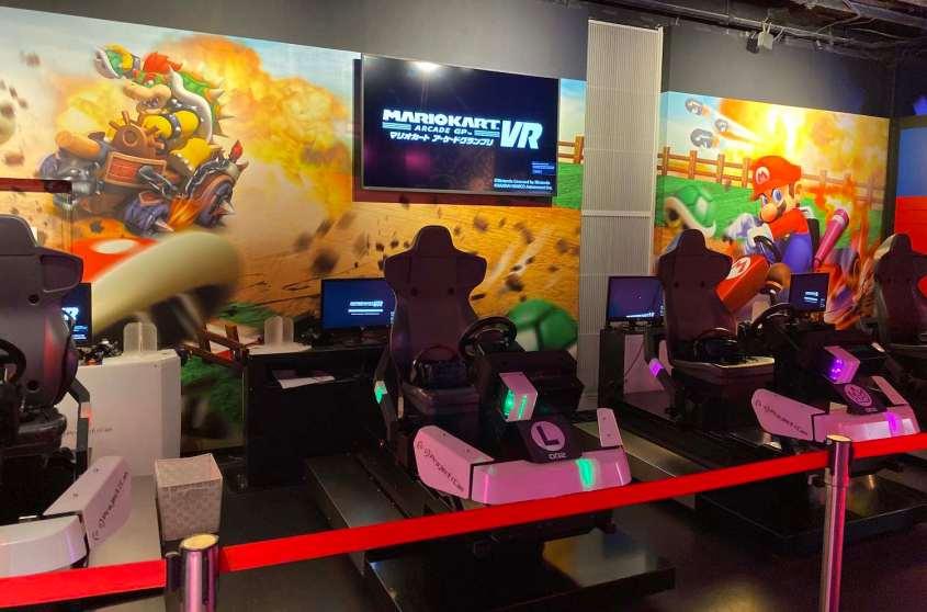J'ai testé le parc d'attractions Mazaria en réalité virtuelle à Tokyo