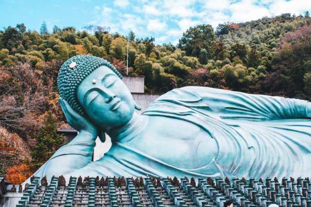 Bouddha allongé de Nanzoin
