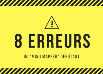 les 8 erreurs à ne pas commettre pour faire un mind map