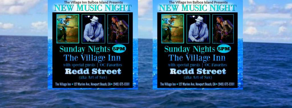 Art of Sax - Redd Street Newport Beach at the Village Inn