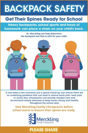 Backpack Safety - Get Your Child's Spine Ready for School