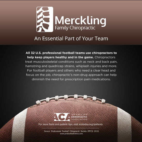 football and chiropractic