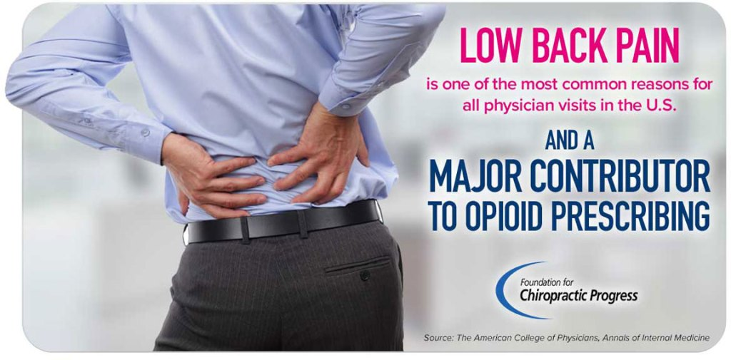 lower back pain & the opioid crisis