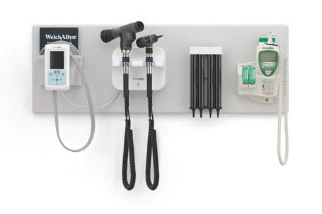 Welch Allyn Green Series 777 Integrated Wall Diagnostic System