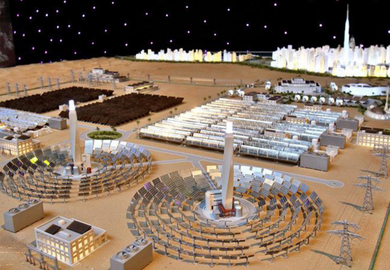 World's Largest CSP Project in Dubai Adds 250 MW Solar PV at a Tariff of $0.024kWh