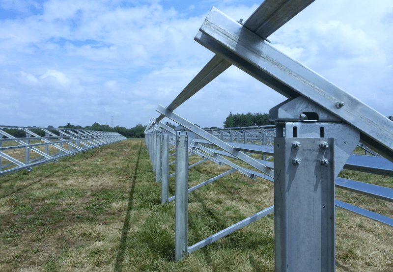 Pennar Was the Leading Solar Mounting Structure Supplier in 2018 Followed by SNS and Ganges