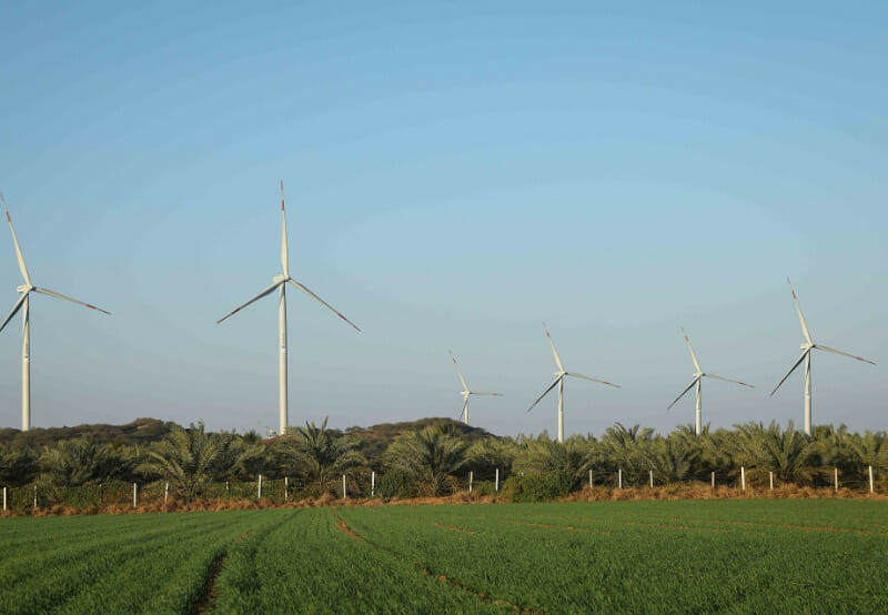 Sembcorp Energy Commissions 800 MW of Wind Projects