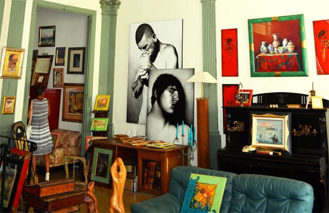 mercredie blog mode tableaux art galerie Grasse