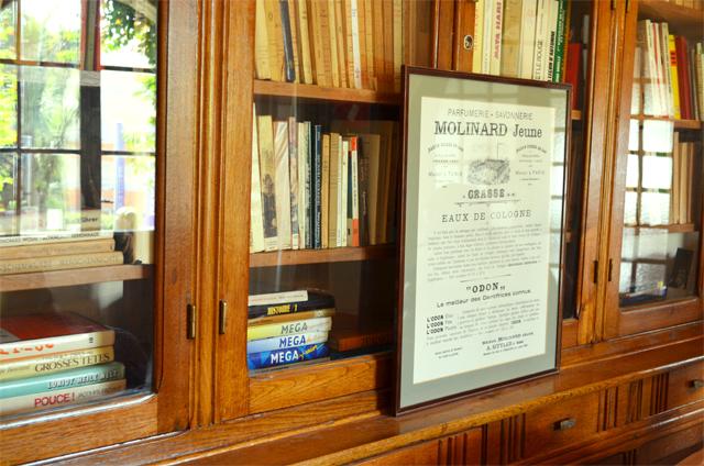 grasse-parfums-molinard-fragonard-galimard-bibliotheque