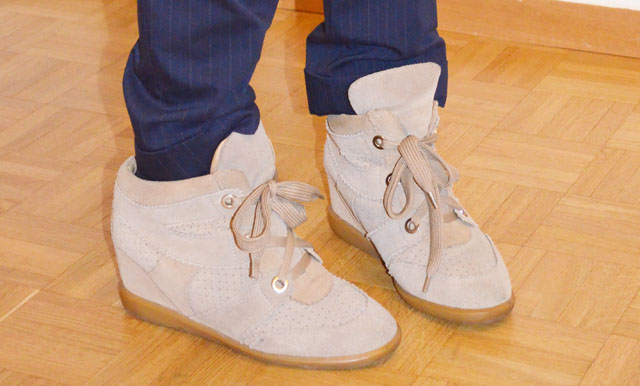 mercredie-blog-mode-isabel-marant-like-sneakers-beige