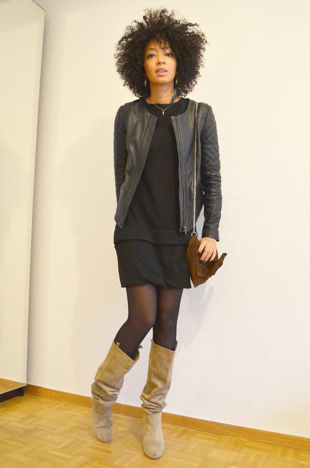 mercredie style robe h&m bottes zara