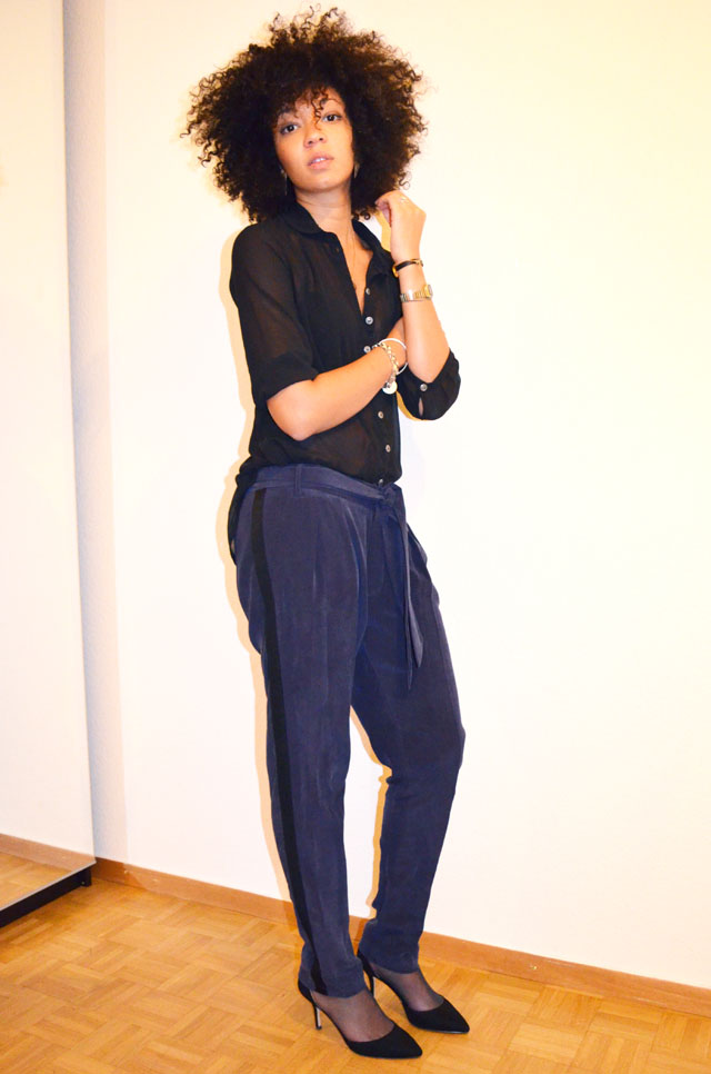 mercredie-blog-mode-only-les-petites-pantalon-groom-escarpins-zara-veste-glitter-sequins-afro-hair-natural-2