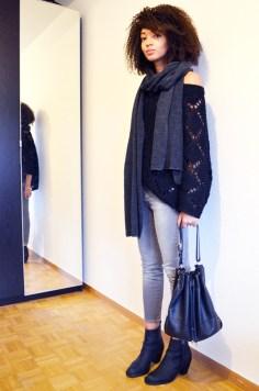 mercredie-blog-mode-geneve-echarpe-zara-oversized-grosse-jeans-gris-grey-bel-air-maille-pull-laine-rosalie-pistol-acne-look-outfit-tenue-mode-sac-seau-apc-rue-madame-cuir