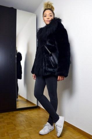 mercredie-blog-mode-geneve-maje-manteau-fausse-fourrure-king-kong-stan-smith-adidas-chanel-sac-bag-chevron-black2