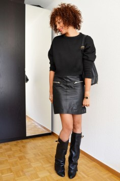 mercredie-blog-mode-geneve-suisse-boots-bottes-choies-givenchy-shark-ersatz-jupe-cuir-zip-hm-pull-crop-top-zara-20133