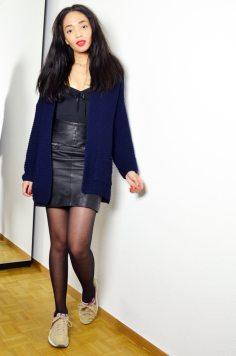 mercredie-blog-mode-geneve-suisse-test-avis-grace-and-wilde-body-shapewear-minceur-gaine-look-jupe-cuir-hm-pegasus-nike-vintage-gilet-oversized-laine-primark