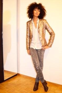 mercredie-blog-mode-veste-sequins-boots-paillettes-diy