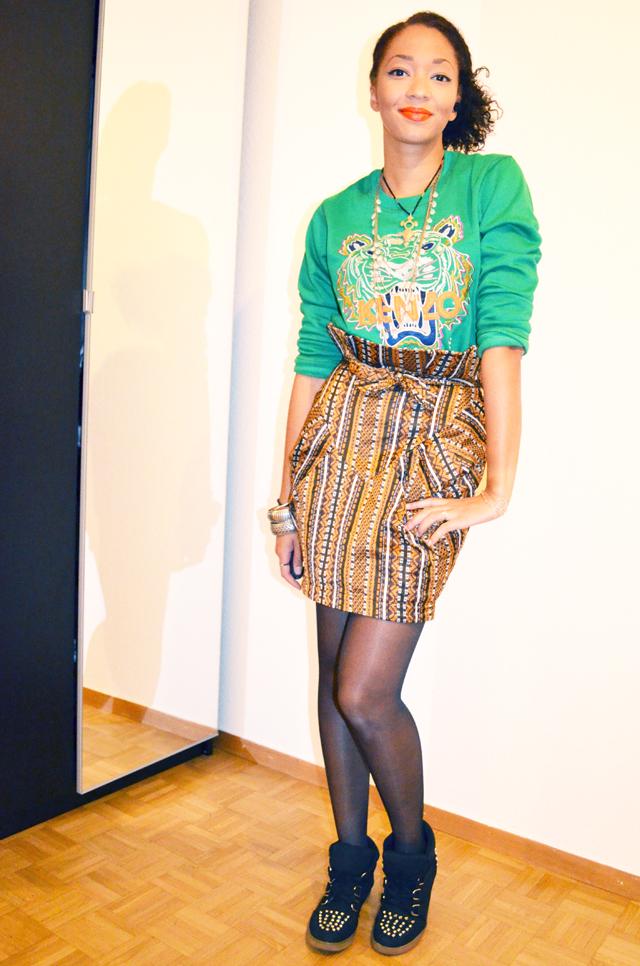 mercredie-blog-mode-beaute-fashion-look-outfit-kenzo-tiger-sweater-sweater-soldout-green-tigre-jupe-africa-asos-skirt-african-albatorock-ersatz-6