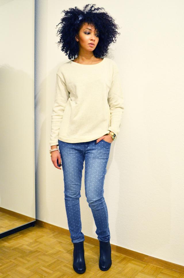 mercredie-blog-mode-beaute-jean-pois-forever21-zalando.ch-suisse-boots-zign-zip-pistol-acne-zara3