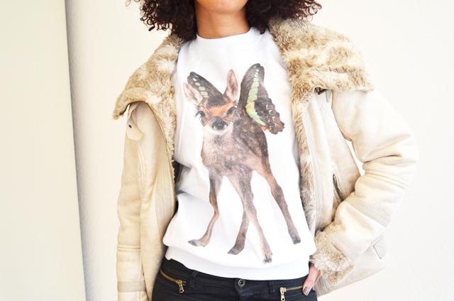 mercredie-blog-mode-beaute-suisse-geneve-sweat-bambi-topshop-emma-cook-blouson-bershka