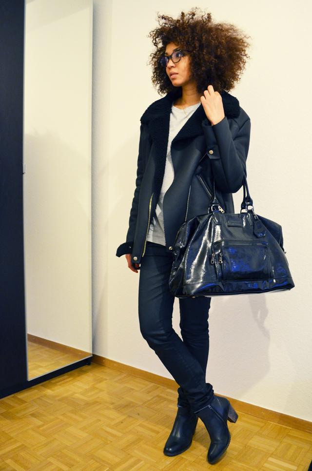 mercredie-blog-mode-geneve-suisse-lunettes-rayban-easylunettes-5226-cateye-jacket-acne-shearling-ersatz-stylenanda-afro-hair-cheveux-frises-nappy-jean-etam-zip-boots-pistol-acne-zign-longchamp-legende-xl-kate-moss