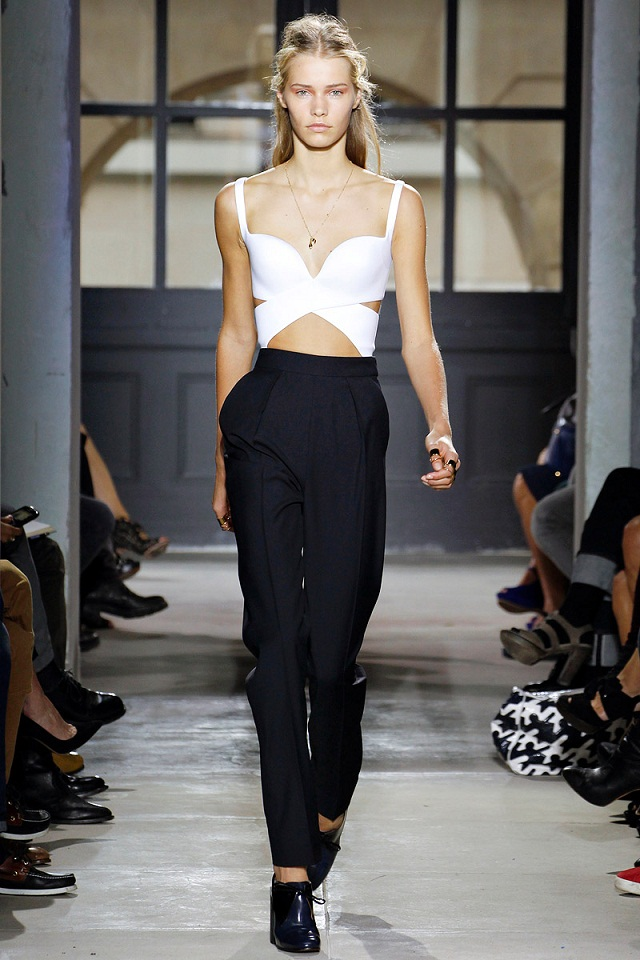 balenciaga-runway-crop-top