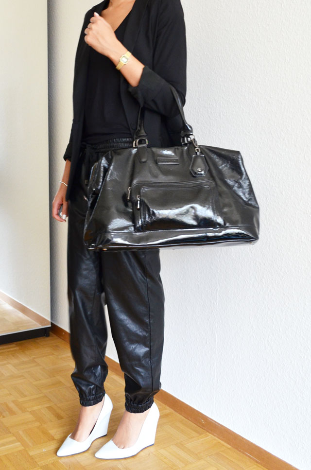 mercredie-blog-mode-geneve-suisse-fashion-blog-switzerland-blogger-look-outfit-leather-cuir-baggy-front-row-zara-wedges-compenses-escarpins-white-sac-legende-longchamp-xl-kate-moss2