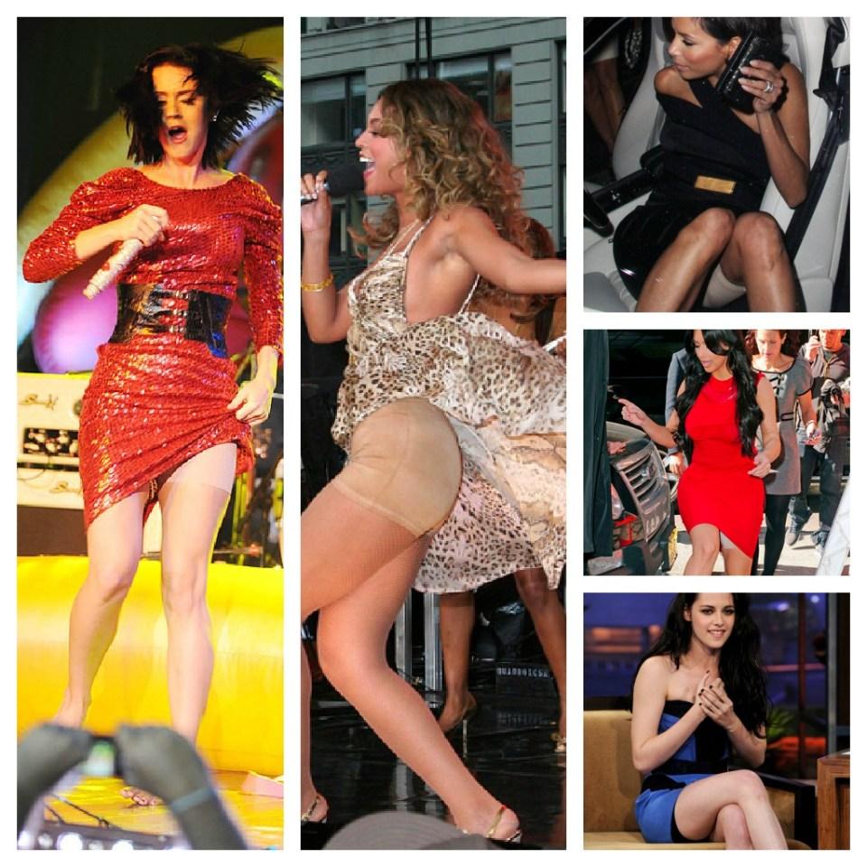 celebrities wearing spanx shapewear