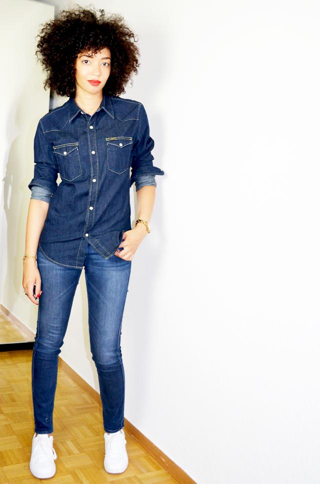 mercredie-blog-mode-meltin-pot-geneve-bloggeuse-blogueuse-mode-adidas-stan-smith-white-chemise-denim-parfaite-lee