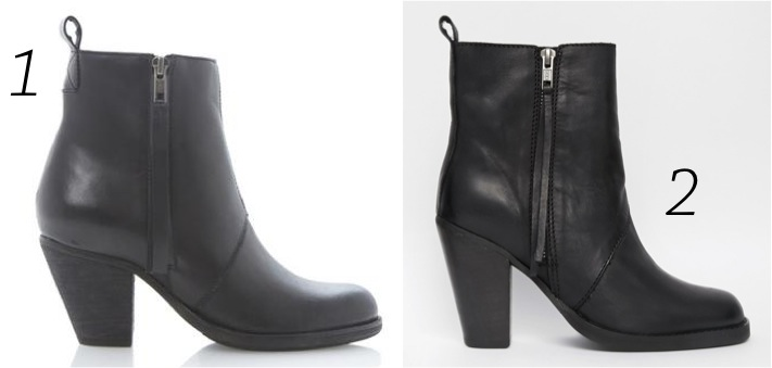 ersatz-similar-inspiration-for-less-pas-cher-acne-pistol-selected-carol-dune-london-boots-platter-black