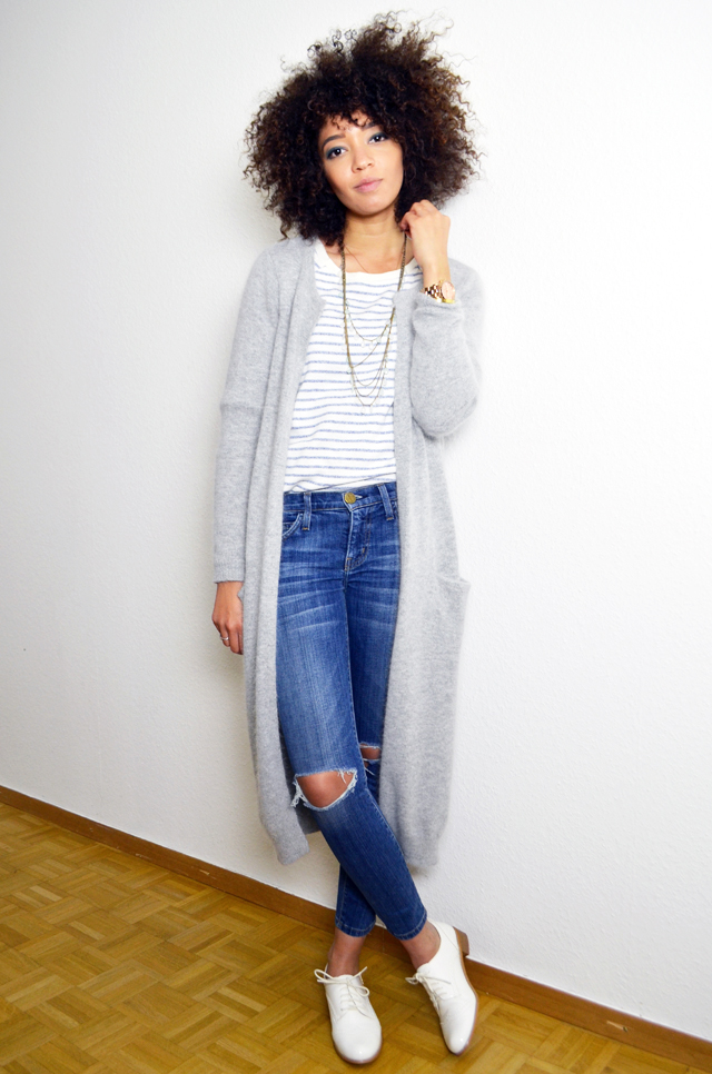 mercredie-blog-mode-gilet-long-acne-like-vila-modress-richelieu-blanc-boyfriend-jean-current-elliott