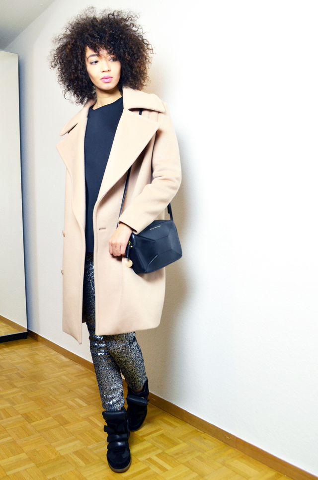 mercredie-blog-mode-legging-sequins-h&m-sneakers-isabel-marant-black-daniel-wellington-classic-york-lady-fiamma-stella-mccartney
