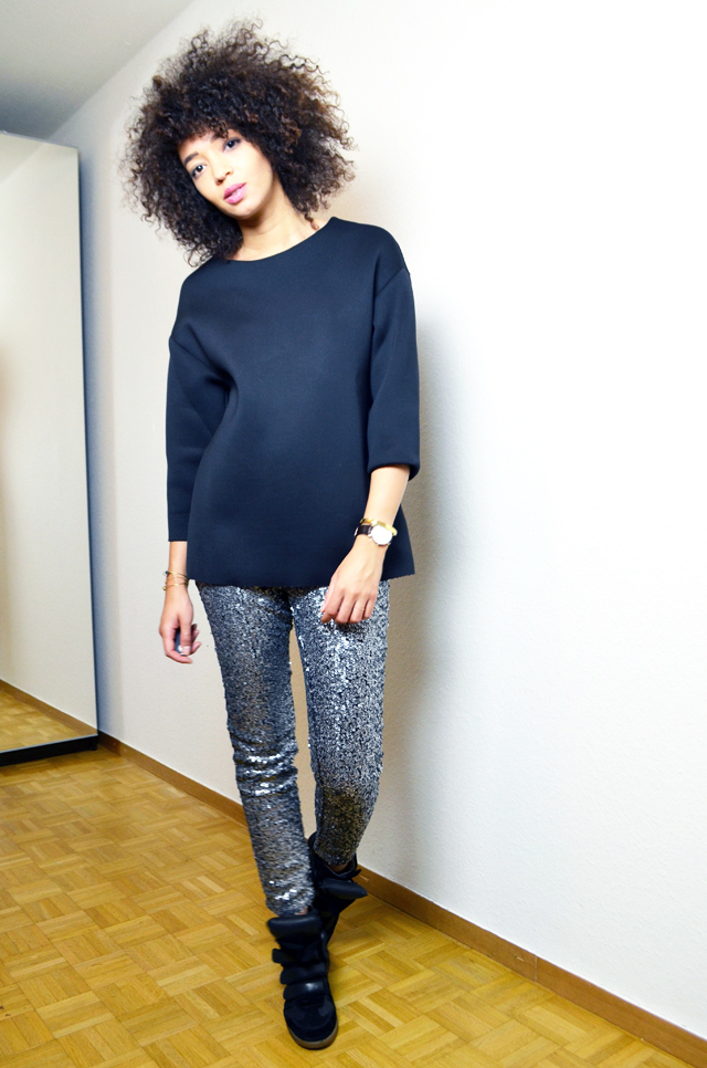 mercredie-blog-mode-legging-sequins-h&m-sneakers-isabel-marant-black-daniel-wellington-classic-york-lady2