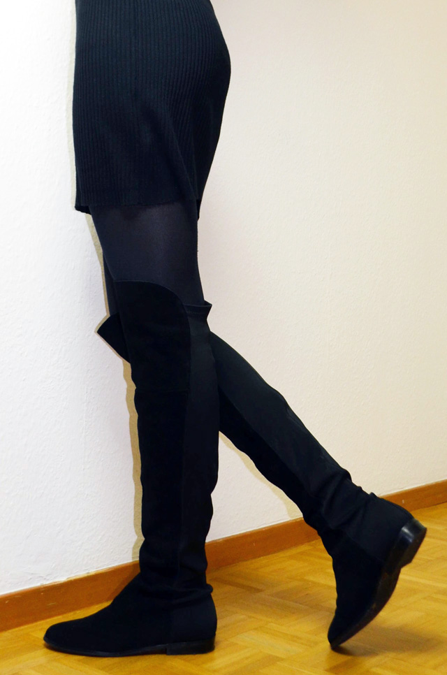 mercredie-blog-mode-cardigan-geneve-new-look-cotele-robe-col-roule-zara-lacewig-jenna-riley-chinese-laundry-over-the-knee-boots-otc6