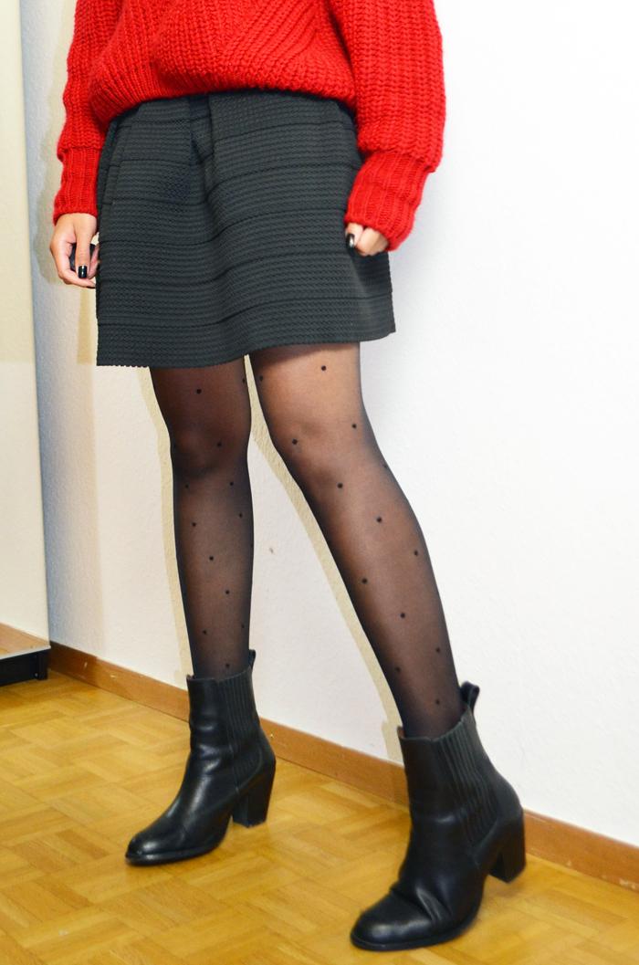 mercredie-blog-mode-geneve-collants-plumettis-etam-bottines-h&m-cuir-pull-rouge-oversized-red-sweater-wool-bimba-y-lola-manteau-isabel-marant-etoile