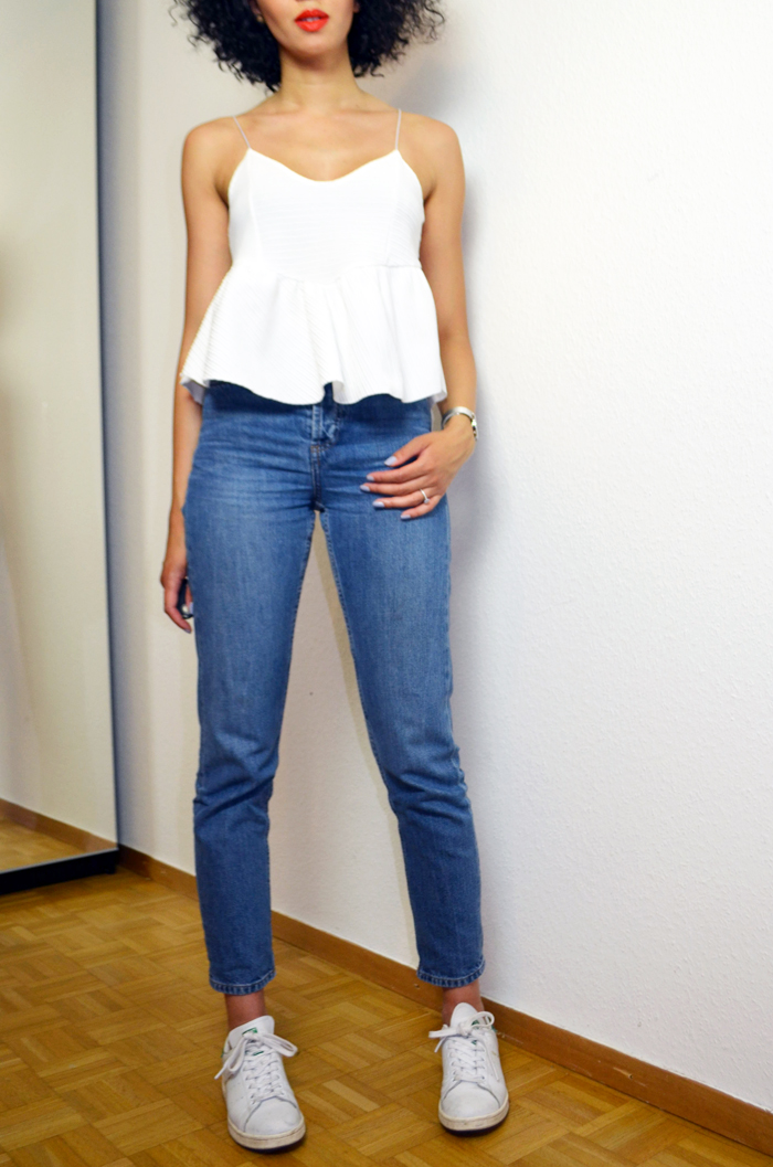 mercredie-blog-mode-suisse-geneve-jean-topshop-mom-straight-stan-smith